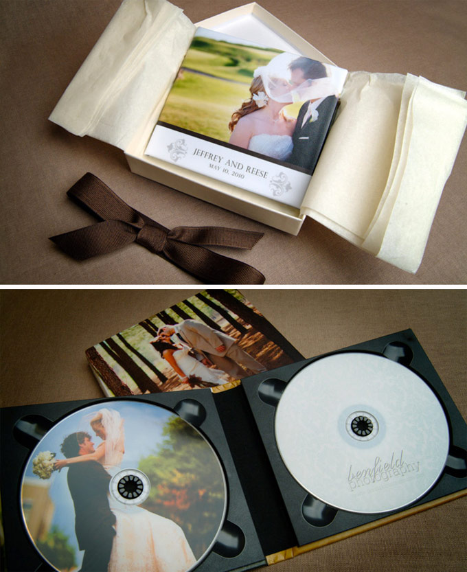 Custom Wedding DVD box
